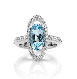precious ring by world luxury jeweller Hester Vonk Noordegraaf